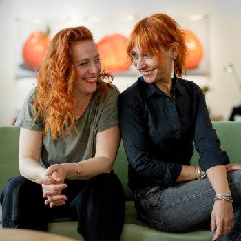 Storylab tim - Ana Grzunov i Dijana Zorić
